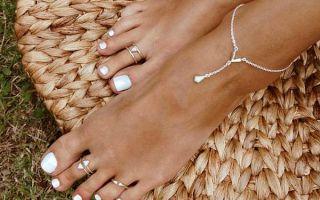 Как и зачем носят кольца на пальцах ног — выбор по формам и размерам