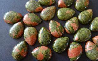 Описание и свойства унакита: как камень улучшает жизнь и кому он подходит