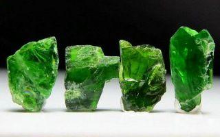 Виды зеленых камней: расцветки, 34 названия 🟩 с описанием, свойства и украшения