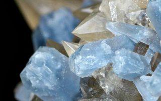 Описание целестина, минерал процветания: особенности и характеристики