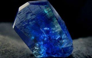 Что такое танзанит и где был найден камень: свойства и значение, украшения на фото