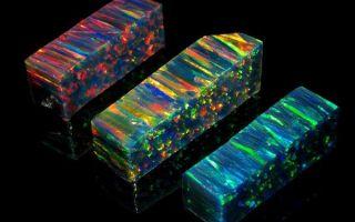 Что такое синтетический (искусственный) опал: свойства и отличия искусной подделки
