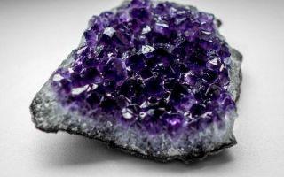 О камне аметисте: описание и значение, магические и лечебные свойства роскошного минерала