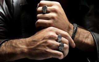 На какой руке и пальце носят печатку и перстни мужчины — что это значит