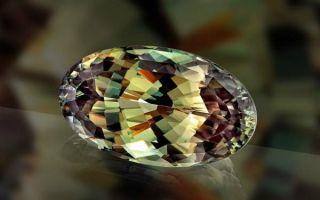 Что такое султанит и как камень-хамелеон меняет цвет: описание, значение и свойства