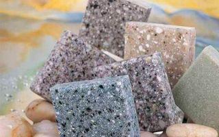 Применение искусственного акрилового камня: характеристики и изготовление дома