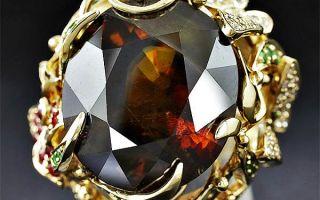 Редчайшие бриллианты коньячного цвета: история, виды, украшения и знаменитые экземпляры