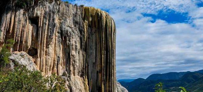 Иерве эль Агуа в Мексике — описание феномена каменного водопада