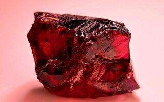 Что такое пироп и как выглядит камень: свойства, другие названия, уникальность