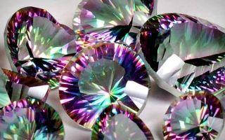 Что такое топаз-мистик и как радужный камень влияет на человека: свойства и совместимость