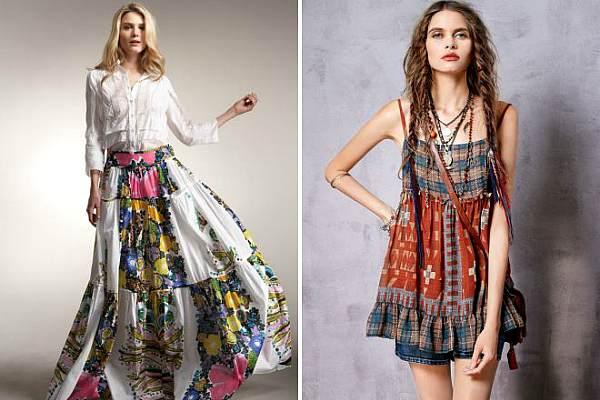 Хиппи стиль в одежде