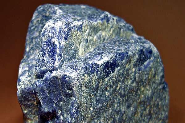Синий авантюрин необработанный камень