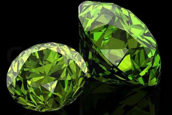 Зеленый бриллиант