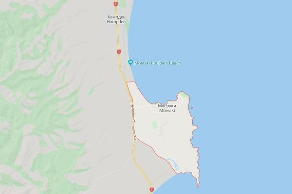 Моераки Новая Зеландия
