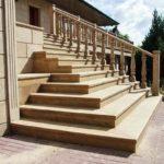 Фельзит отделка лестницы