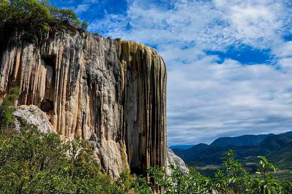 Каменный водопад Мексика