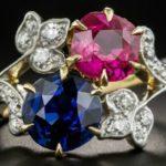 Яхонт кольцо