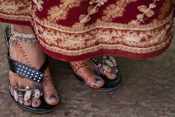Кольца на ногах Индия