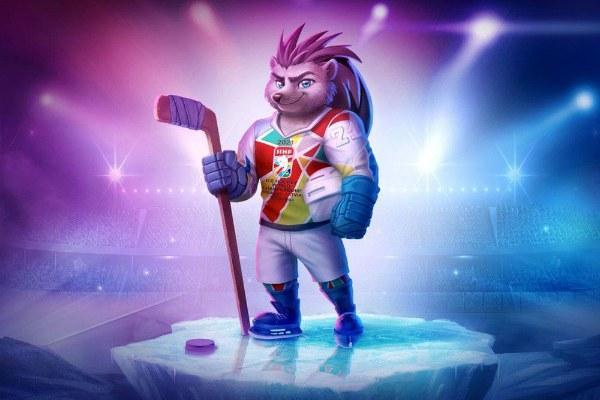 Талисман чемпионата мира по хоккею 2021