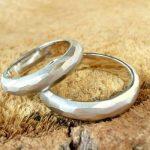 Обручальные кольца 2021 алмазное гранение серебро