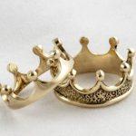 Обручальные кольца 2021 короны