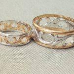 Обручальные кольца 2021 разное золото