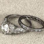 Винтажное обручальное кольцо 2021 эдвардианское