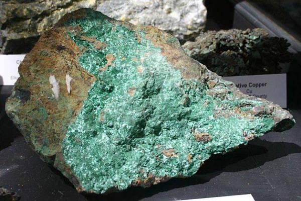 карбонатовая медная руда