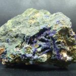 медная руда с азуритом