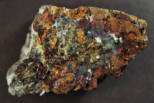 медно порфировая медная руда